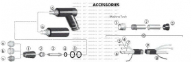 """Adapter, 1 3/8"""" Dia, код 8-2158*, PCH/M-150 TORCH"""